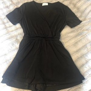 Black Boutique Romper